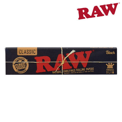 Raw Black King Size Slim Papers