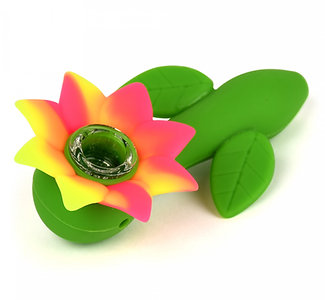 4.5'' Flower Power Pipe