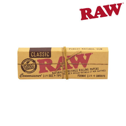 Raw Classic Connoisseur 1 1/4 papers
