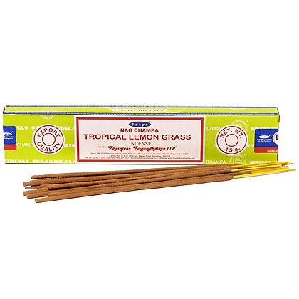 Tropical Lemon Grass Satya Incense