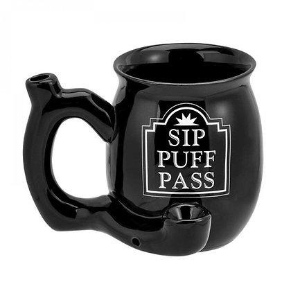 Sip Puff Pass Pipe Mug