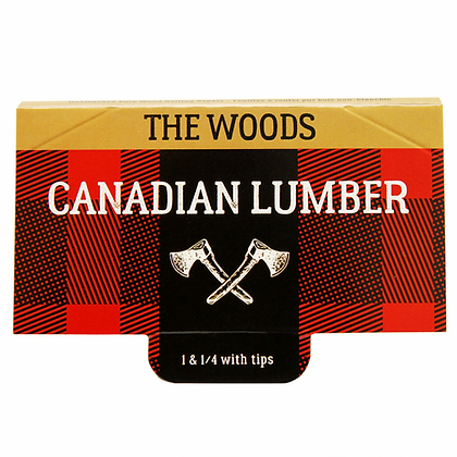 Canadian Lumber Woods 1 1/4 papers