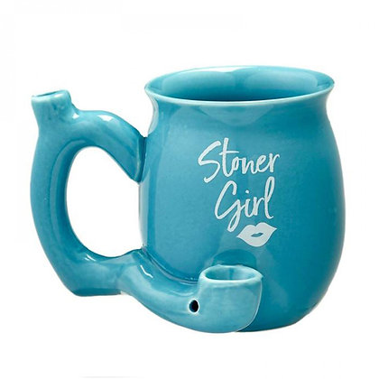 Stoner Girl Pipe Mug