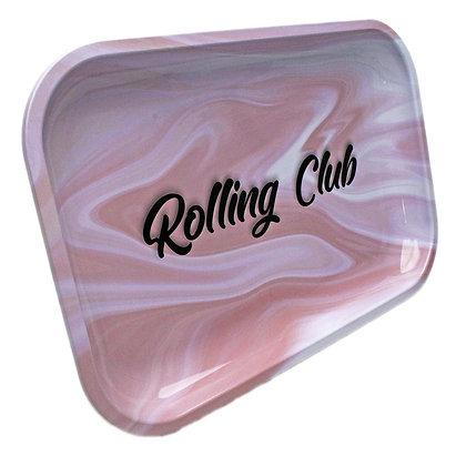 Rolling Club Pink Cream Tray