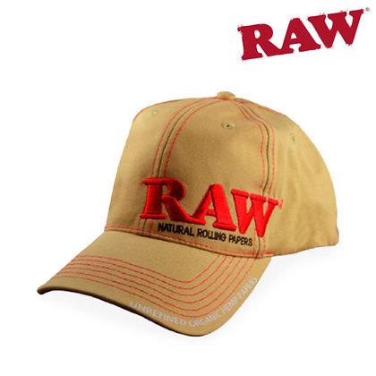 Raw Snapback Hat