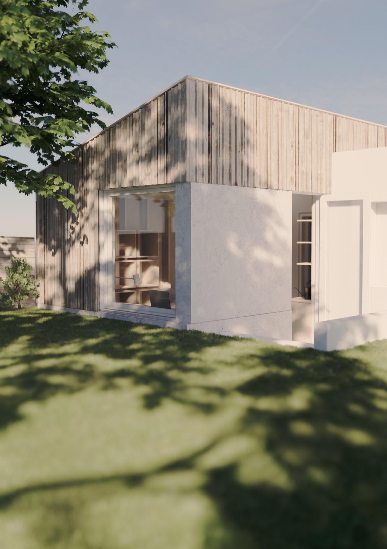 New build garden extension