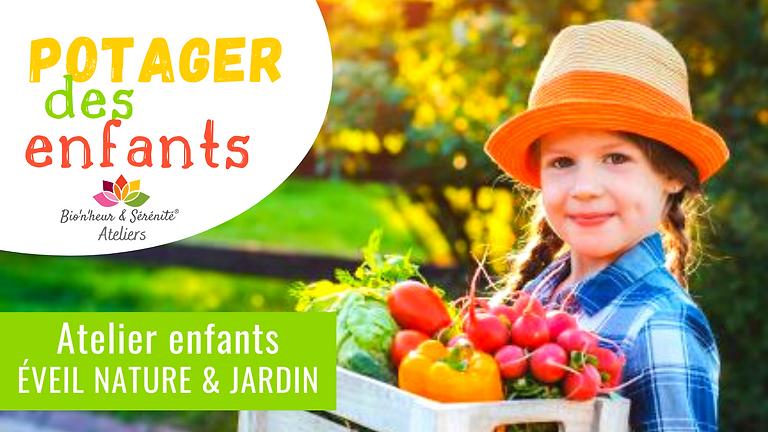 Atelier enfants Éveil nature & jardin - 10h - Potager des enfants