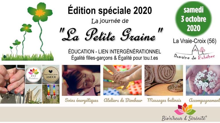 """La journée de """"La Petite Graine"""" - Édition spéciale 2020 🌱"""
