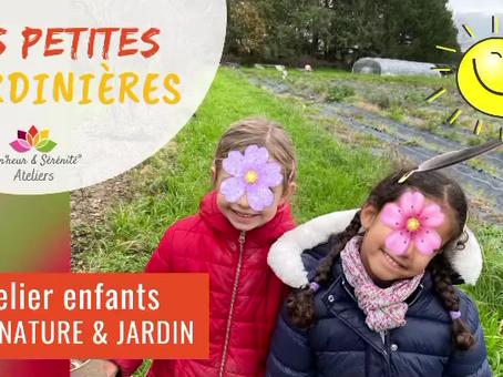 RETOUR D'ATELIER Éveil nature & jardin au Potager du Cosqueric 😃✨🌈