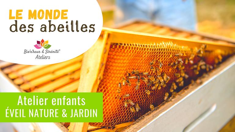 Atelier enfants Éveil nature & jardin - 13h30 - Le monde des abeilles