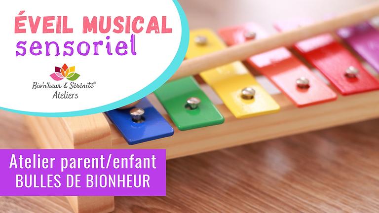 Atelier parent/enfant - Éveil musical sensoriel - 23/09