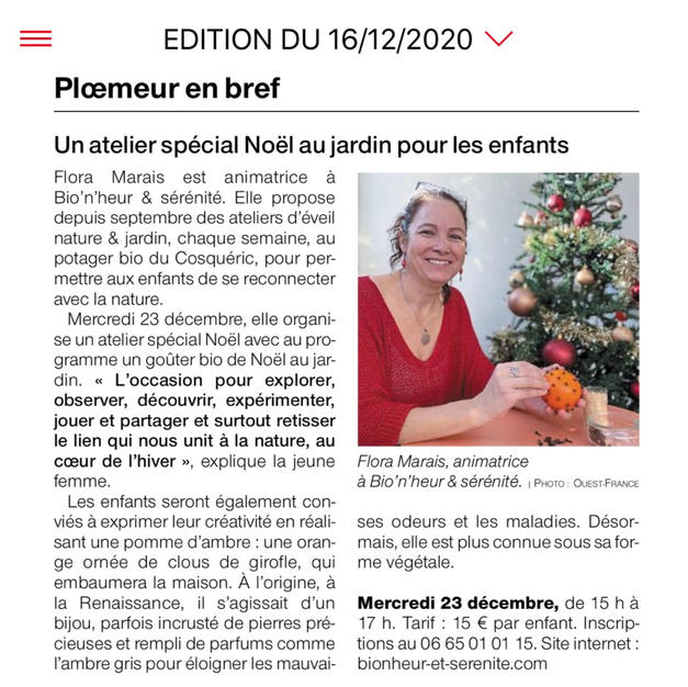 Ouest France - 12.2020