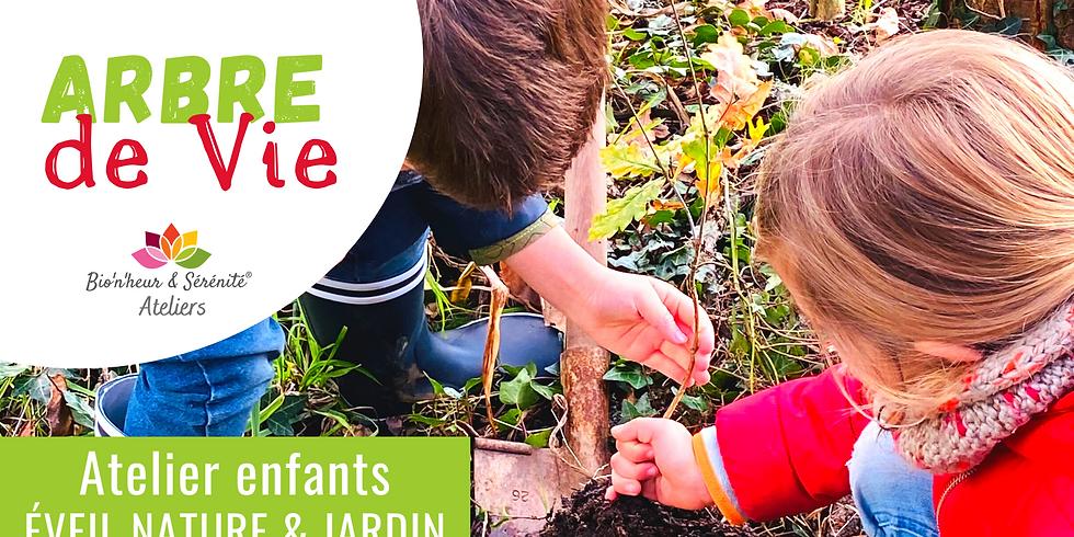 Atelier enfants Éveil nature & jardin - 15h30 - Arbre de Vie
