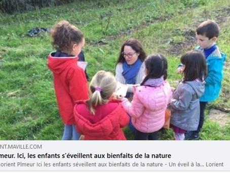 Les enfants s'éveillent aux bienfaits de la nature 🌞🌸🌿
