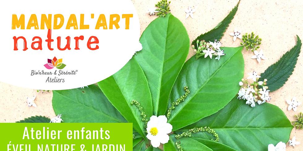 Atelier enfants Éveil nature & jardin - 10h - Mandal'art