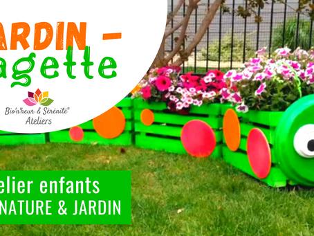 Atelier Éveil nature & jardin - Jardin-cagette