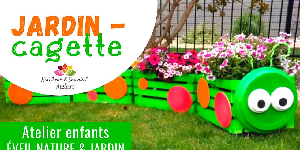 Atelier enfants Éveil nature & jardin - Jardin-cagette