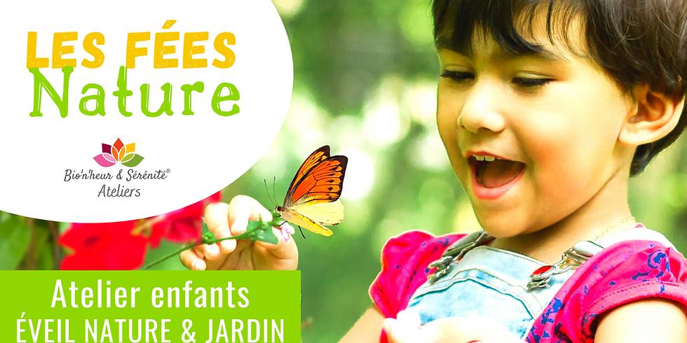 Atelier enfants Éveil nature & jardin - 15h30 - Les fées Nature