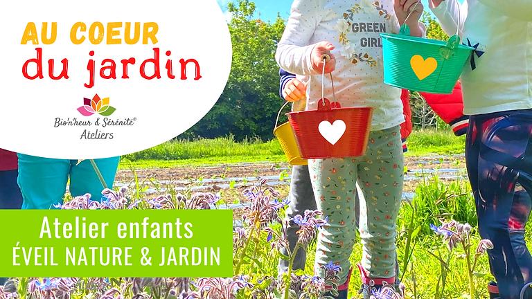 Atelier enfants Éveil nature & jardin - 10h - Au coeur du jardin