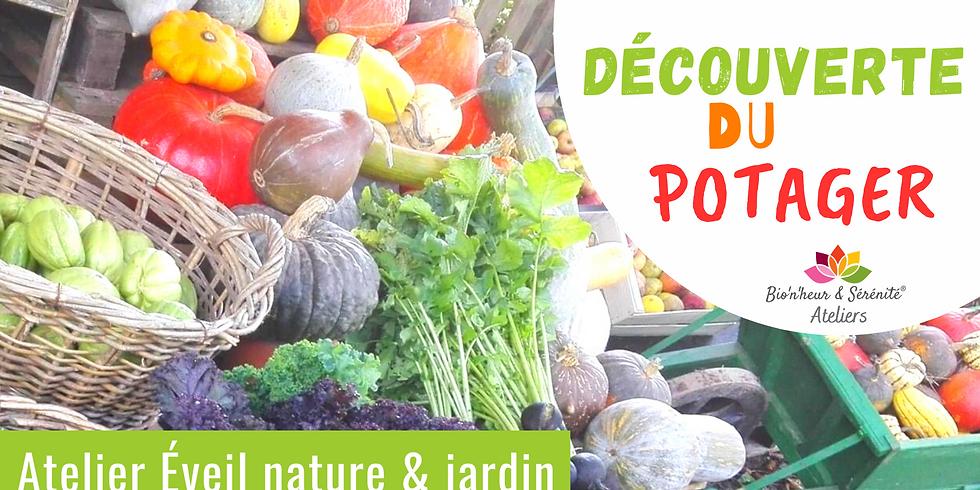 Atelier enfants Éveil nature & jardin - Découverte du potager
