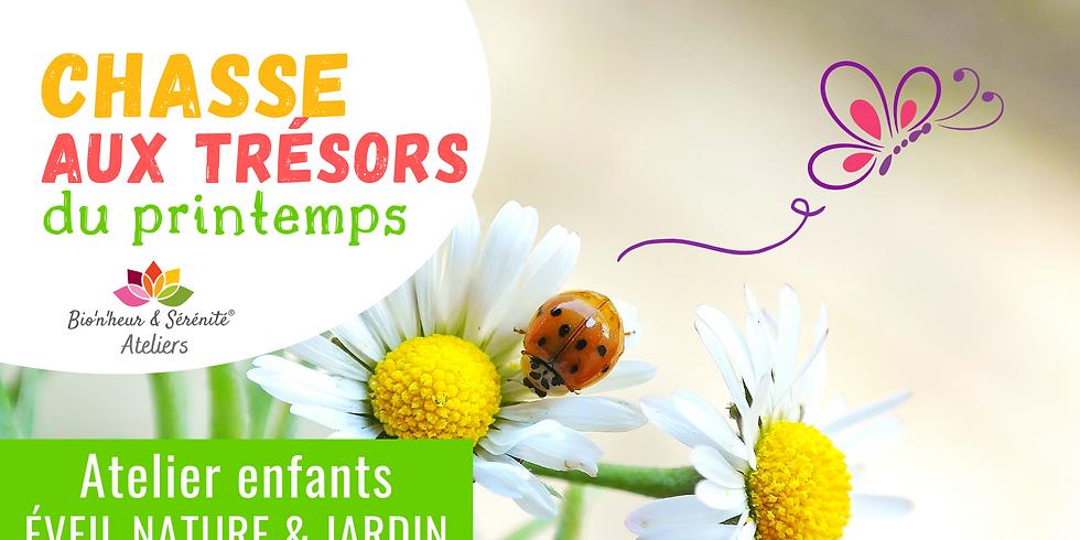 Atelier enfants Éveil nature & jardin - 10h - Chasse aux trésors de printemps
