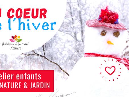 Atelier Éveil nature & jardin - Au cœur de l'hiver