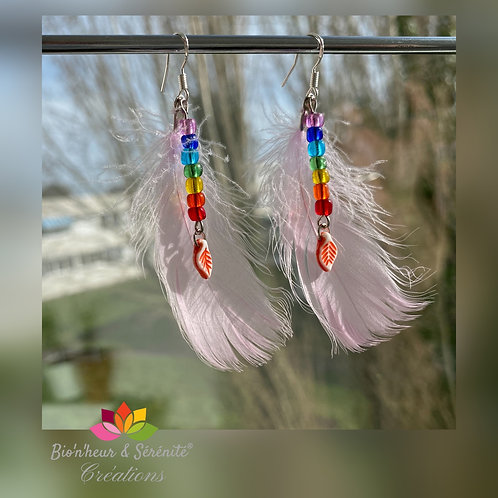 "Boucles d'oreille ""Tendresse"""