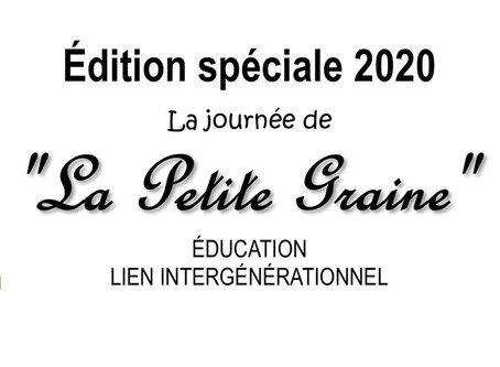 "Journée ""La Petite Graine"" - Samedi 3 octobre 2020"