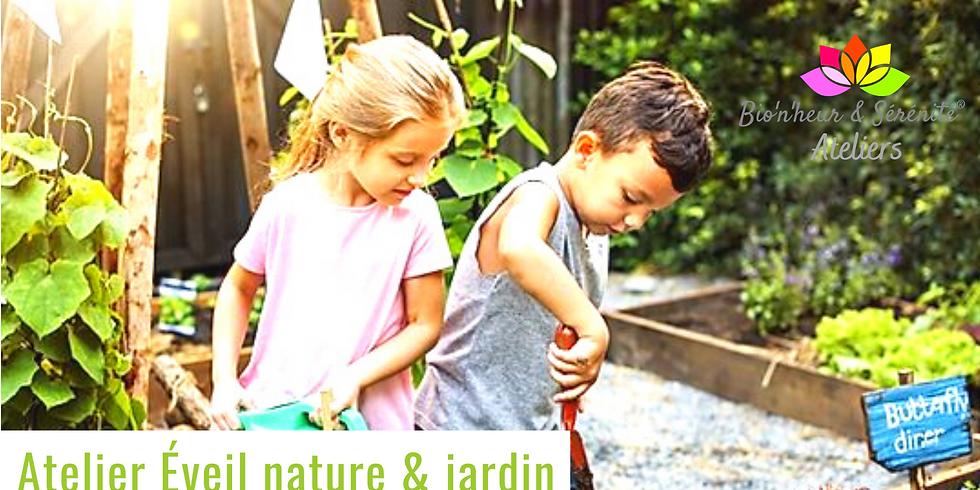 Atelier enfants Éveil nature & jardin