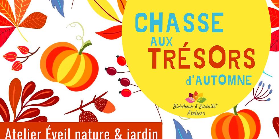 Atelier enfants Éveil nature & jardin - Chasse aux trésors d'automne