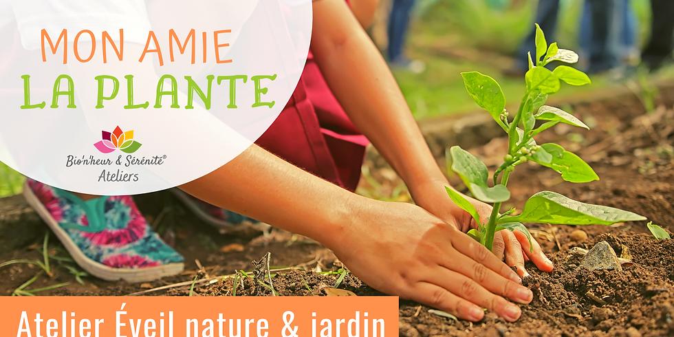 Atelier enfants Éveil nature & jardin - Mon amie la plante