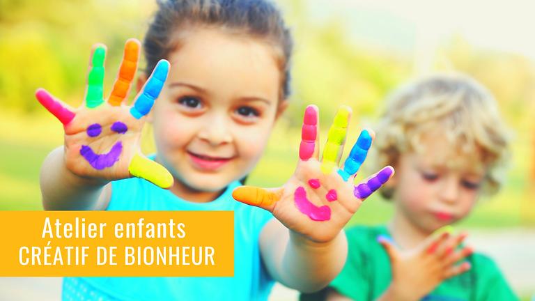 Atelier enfants Créatif de Bionheur