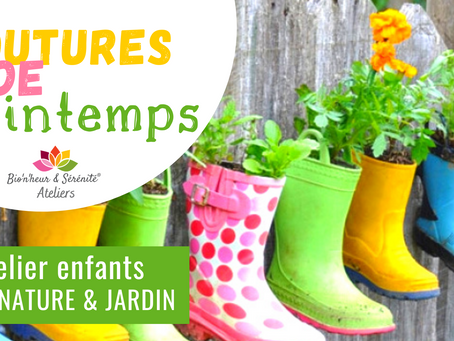 Atelier Éveil nature & jardin - Boutures de printemps
