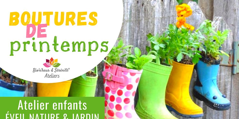 Atelier enfants Éveil nature & jardin - Boutures de printemps