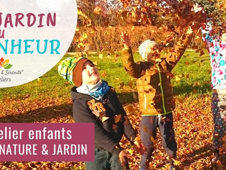 Atelier Éveil nature & jardin - Le jardin du bonheur