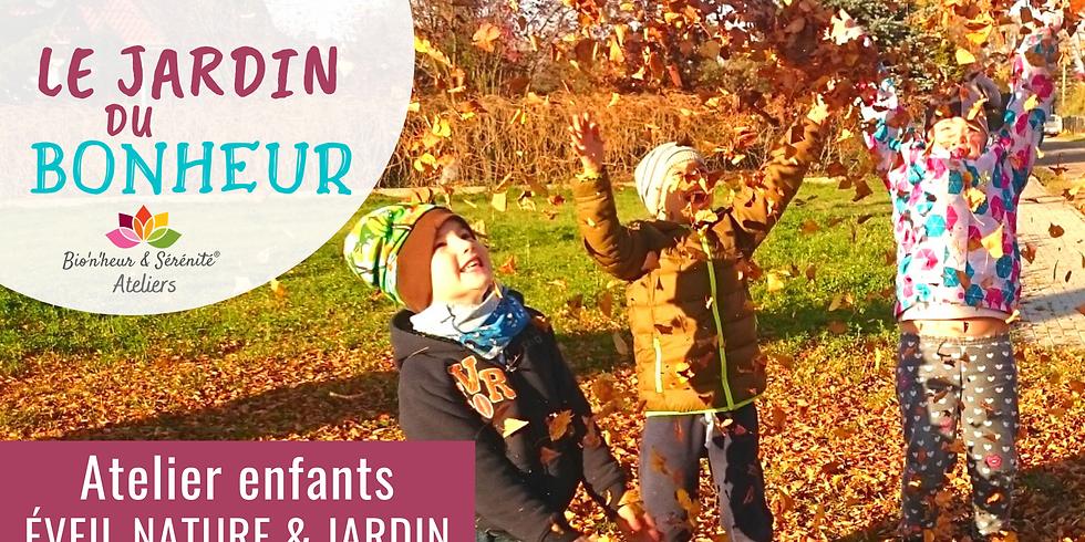 Atelier enfants Éveil nature & jardin - Le jardin du bonheur