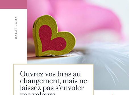 Des Valeurs pour plus de Bonheur !!...
