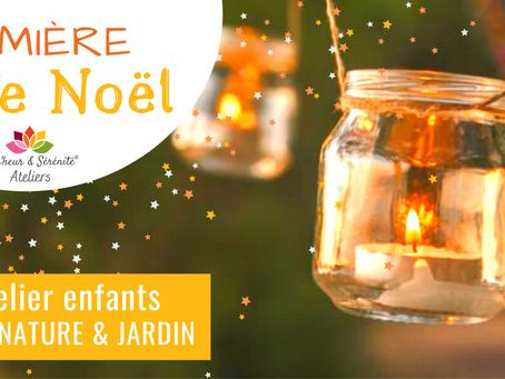 Éveil nature & jardin - Lumière de Noël