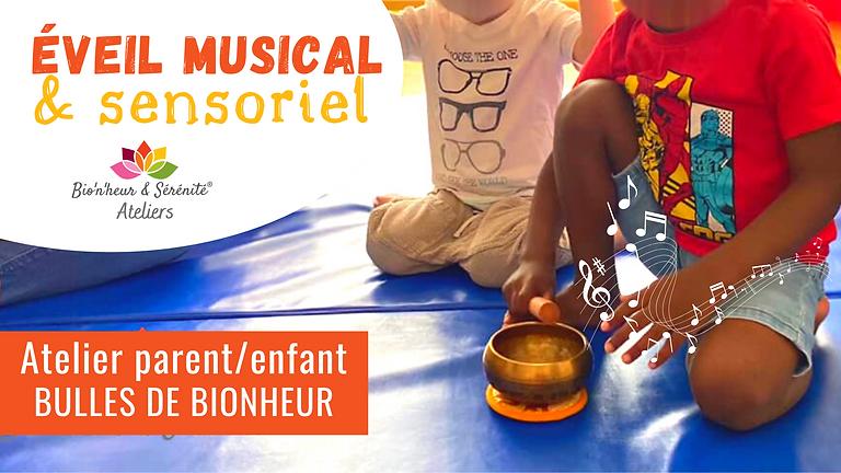 Atelier parent/enfant - Éveil musical sensoriel - 27/09