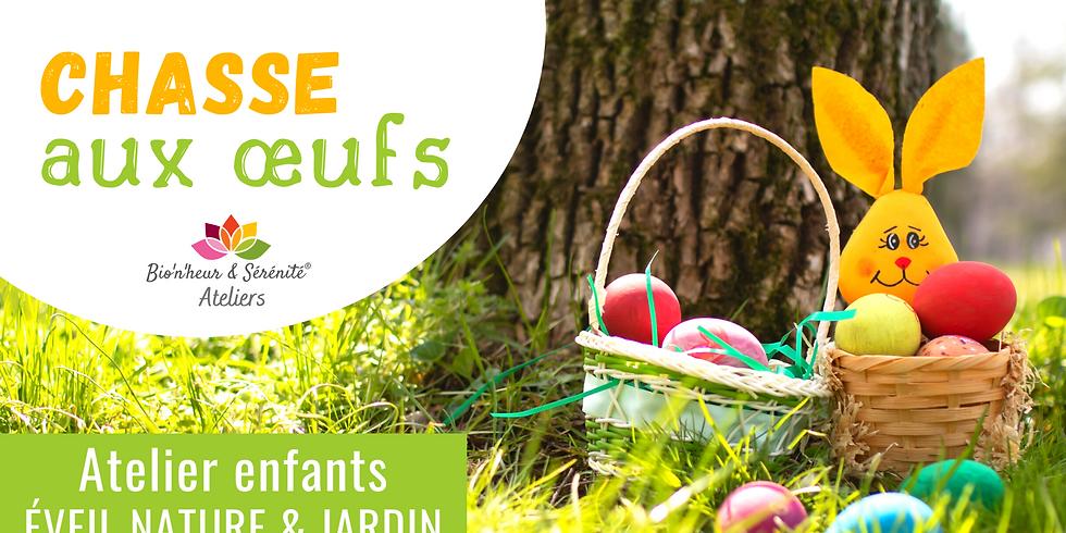 Atelier enfants SPÉCIAL Éveil nature & jardin - Chasse aux oeufs