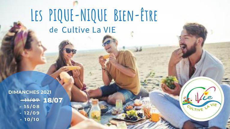 REPORTÉ - Les Pique-Nique Bien-être de Cultive La VIE - 18/07 - GRATUIT