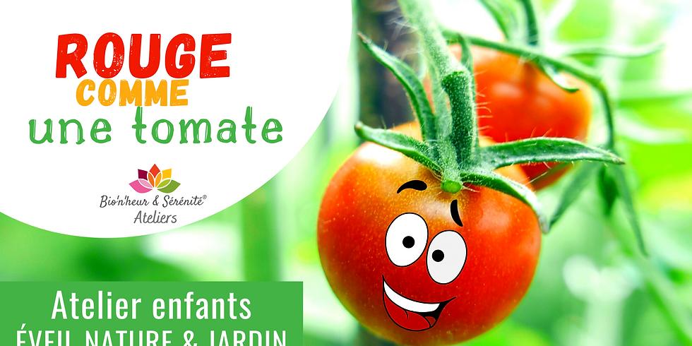 Atelier enfants Éveil nature & jardin - Rouge comme une tomate