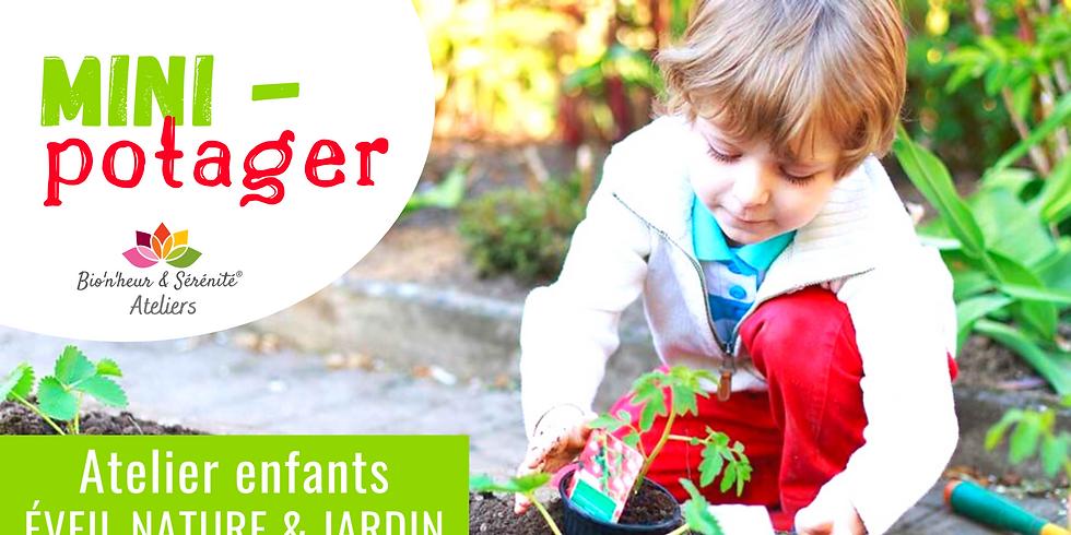 Atelier enfants Éveil nature & jardin - Mini-potager