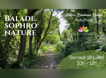 Balade Sophro Nature - Samedi 18 juillet de 10h à 12h