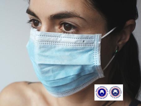 """COVID-19 : Le protocole sanitaire en entreprise adapté - Les masques artisanaux jugés """"inadaptés"""""""