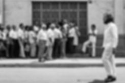 Performance Desatorador 1990 Emilio Santisteban