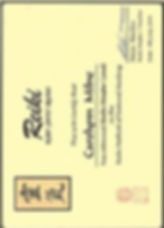 Reiki Masters Certificate