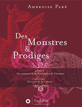 DES MONSTRES ET PRODIGES