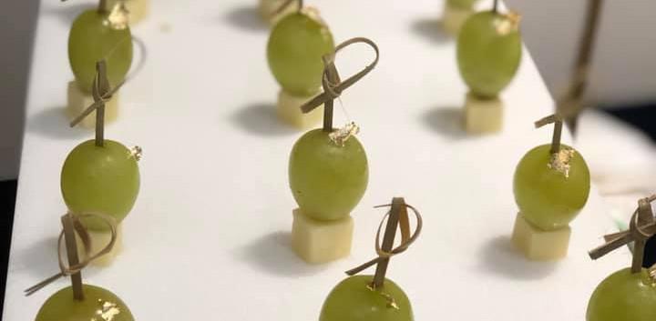 Green Grape & Cheddar Cheese
