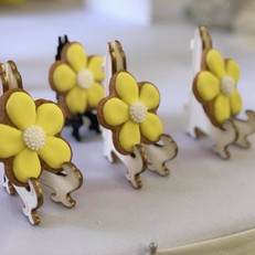 Yellow Flower Cookies